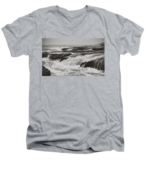 After The Crash Men's V-Neck T-Shirt