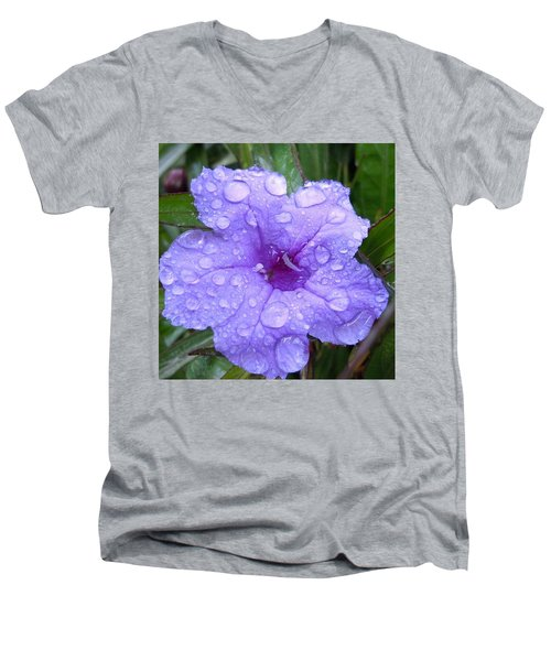 Men's V-Neck T-Shirt featuring the photograph After The Rain #1 by Robert ONeil