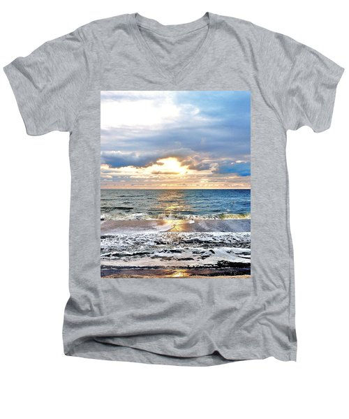 After The Storm 3 Men's V-Neck T-Shirt