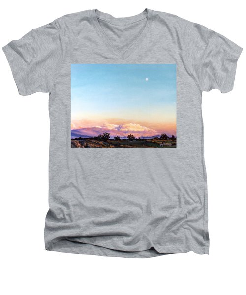 After The Storm Men's V-Neck T-Shirt by Craig T Burgwardt