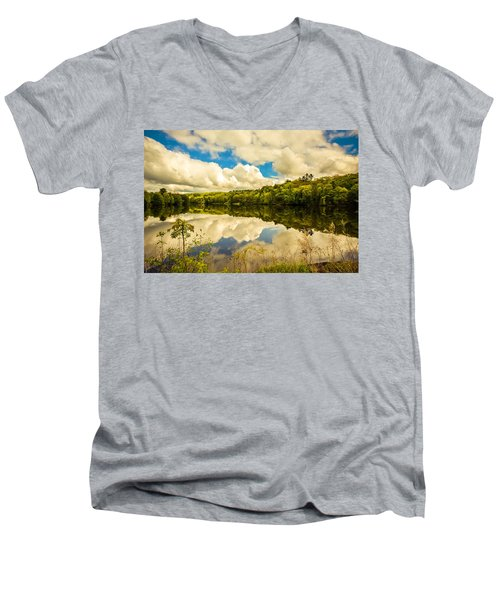After The Storm Men's V-Neck T-Shirt by Sherman Perry