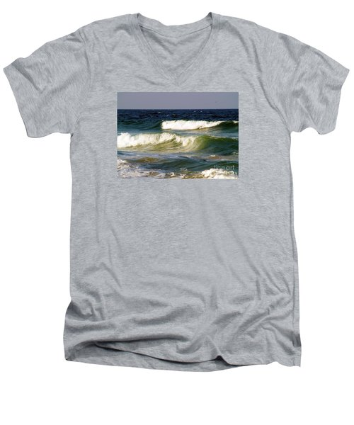 Aftermath Of A Storm Men's V-Neck T-Shirt by Patricia Griffin Brett