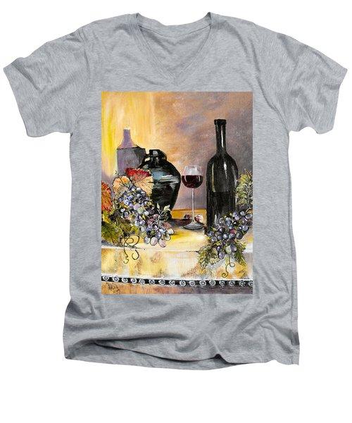 Bottles Of Time Men's V-Neck T-Shirt