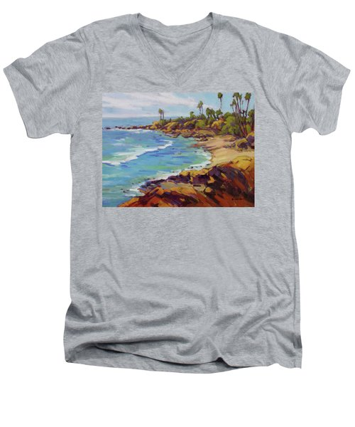 Afternoon Glow 2 Men's V-Neck T-Shirt