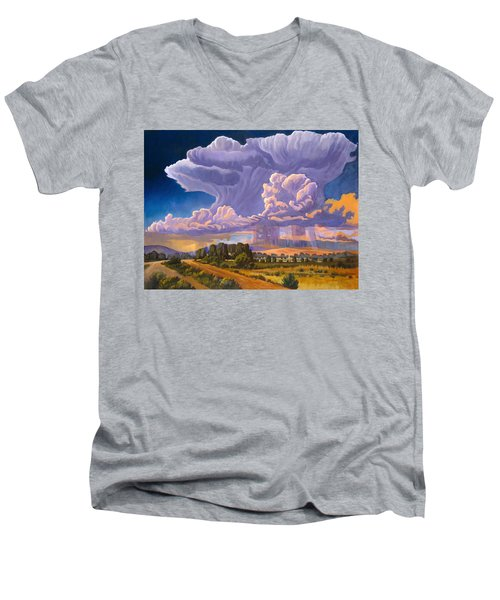 Afternoon Thunder Men's V-Neck T-Shirt