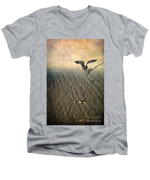 Against The Tide Men's V-Neck T-Shirt