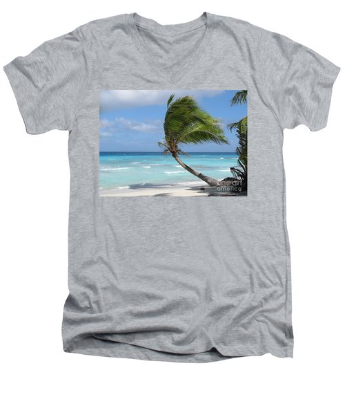 Against The Winds Men's V-Neck T-Shirt