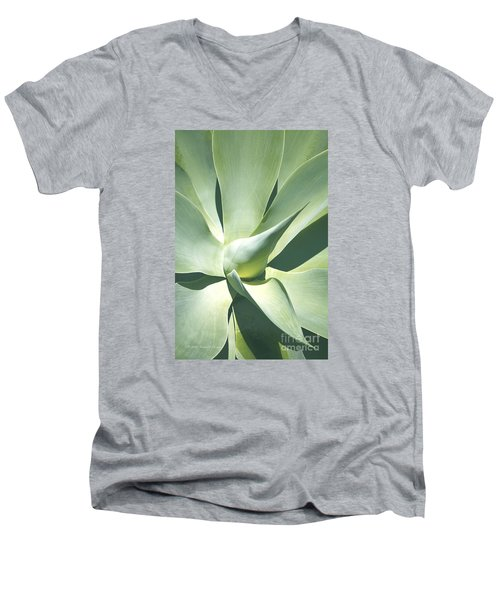 Agave Plant 1 Men's V-Neck T-Shirt