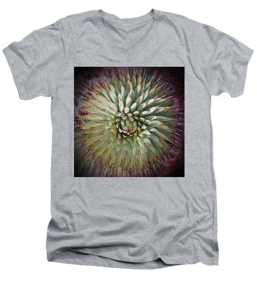 Agave Spikes Men's V-Neck T-Shirt