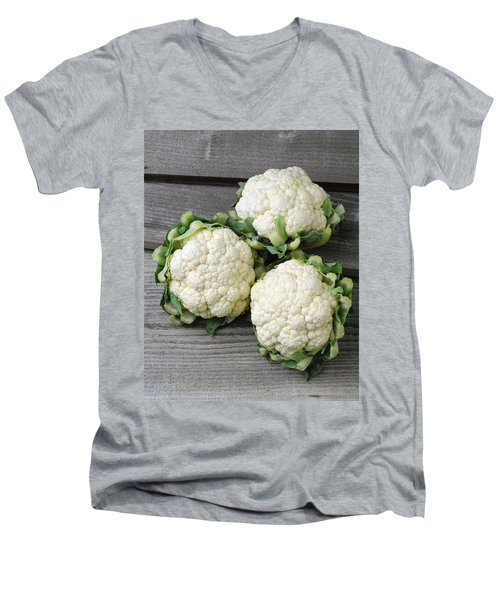 Agriculture - Fresh Heads Men's V-Neck T-Shirt by Ed Young
