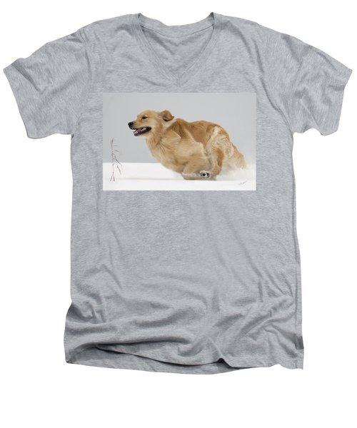 Ahhhh Freedom Men's V-Neck T-Shirt