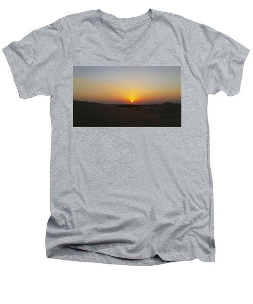 Al Ain Desert 15 Men's V-Neck T-Shirt