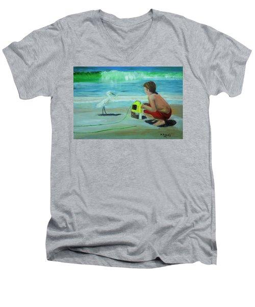 Al Men's V-Neck T-Shirt