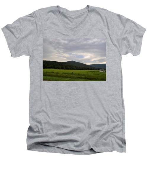 Alabama Mountains 2 Men's V-Neck T-Shirt by Verana Stark