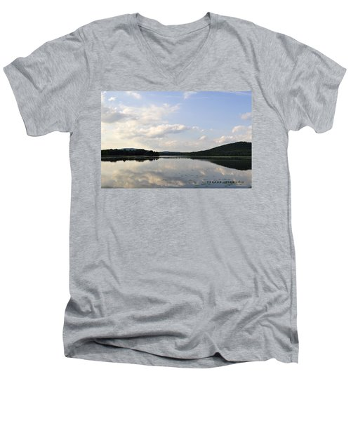 Alabama Mountains Men's V-Neck T-Shirt by Verana Stark