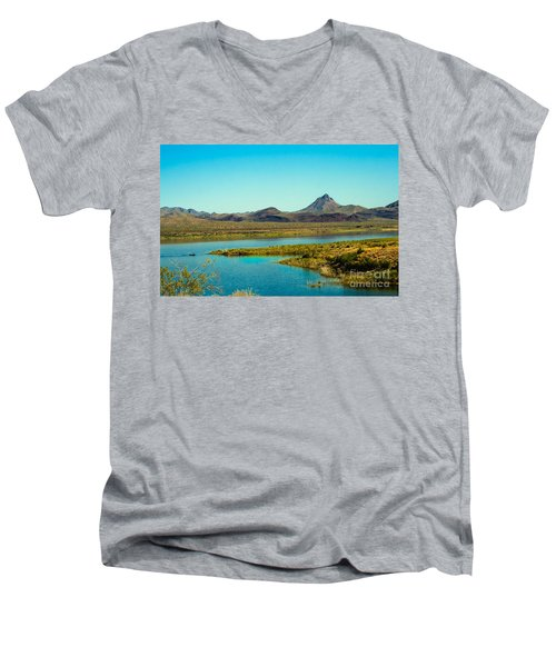 Alamo Lake Men's V-Neck T-Shirt