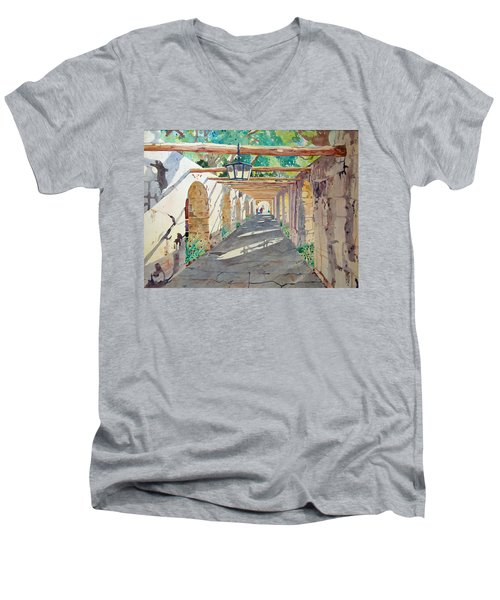Alamo Walkway Men's V-Neck T-Shirt