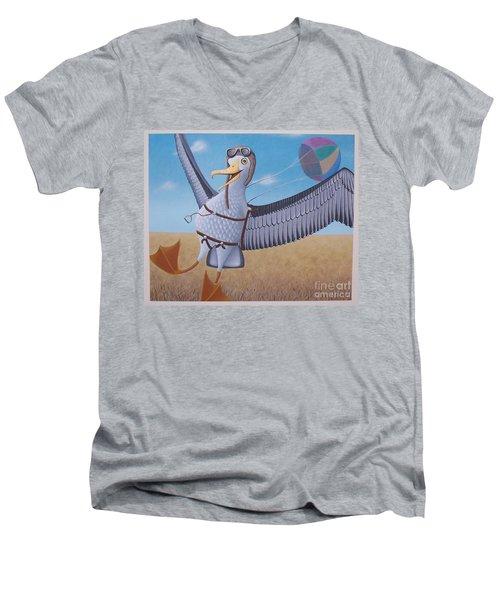 Albatross Landing Men's V-Neck T-Shirt