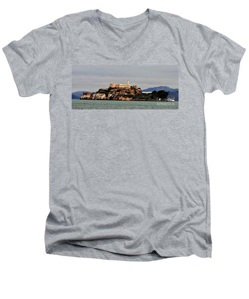 Alcatraz Island - The Rock Men's V-Neck T-Shirt