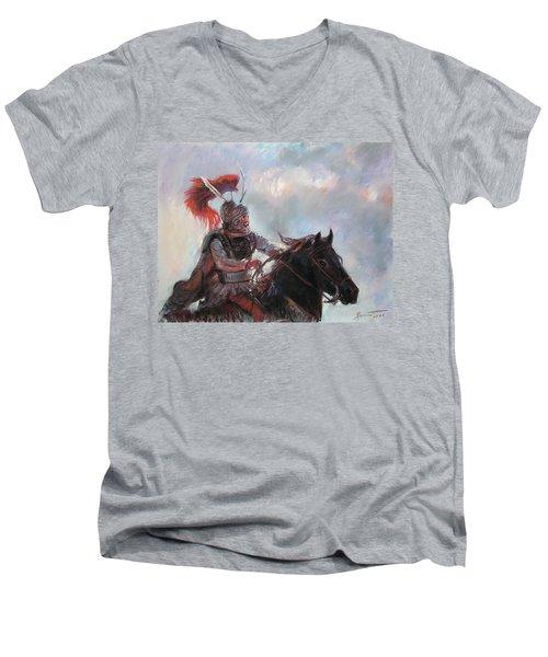 Alexander The Great  Men's V-Neck T-Shirt