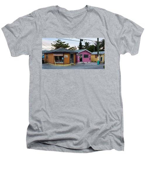 Alice Town Shops Men's V-Neck T-Shirt