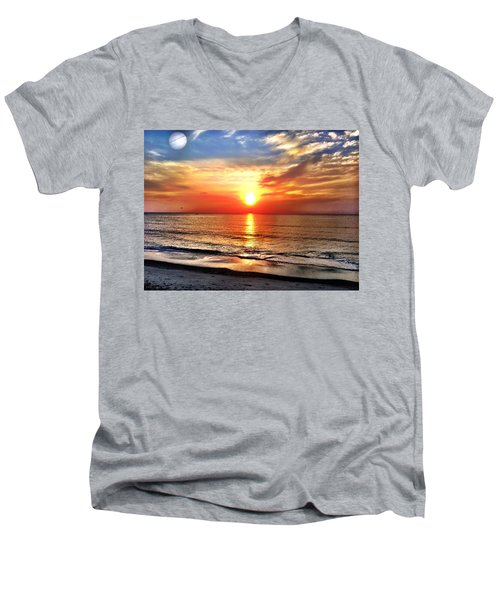 Alignment Men's V-Neck T-Shirt