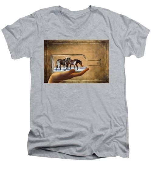 All Bottled Up Men's V-Neck T-Shirt
