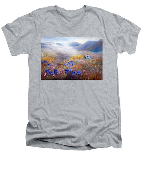 All In A Dream - Impressionism Men's V-Neck T-Shirt