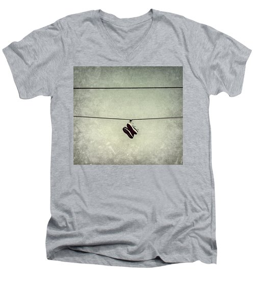 All Tied Up Men's V-Neck T-Shirt by Melanie Lankford Photography