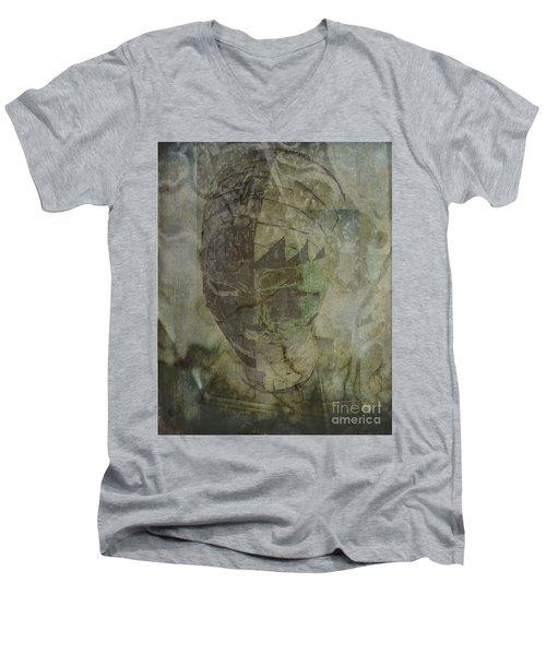 Almost Forgoten Men's V-Neck T-Shirt by Irma BACKELANT GALLERIES