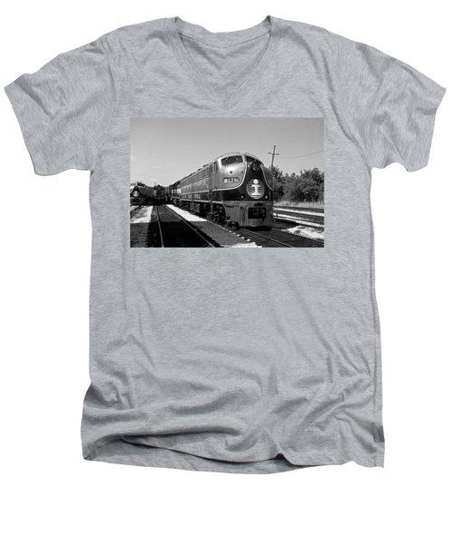 Amazing Trainyard Men's V-Neck T-Shirt