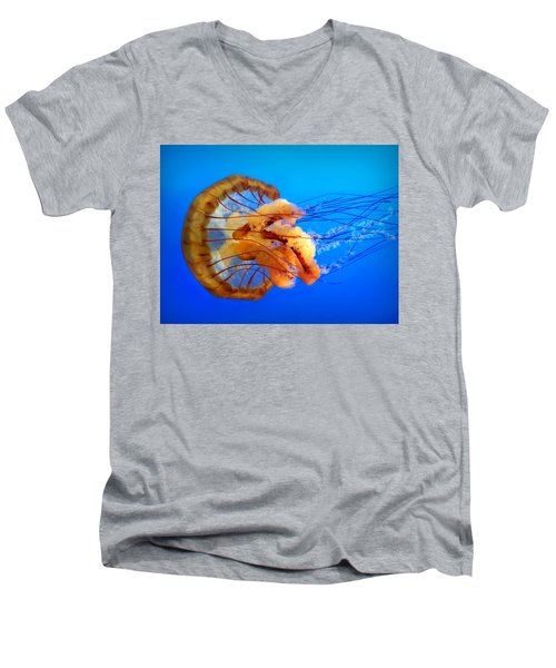 Amber Seduction Men's V-Neck T-Shirt