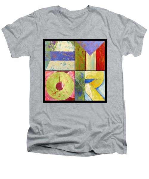 Amor Men's V-Neck T-Shirt