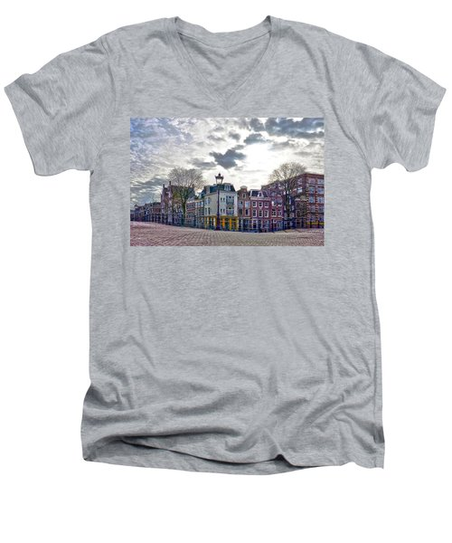 Amsterdam Bridges Men's V-Neck T-Shirt