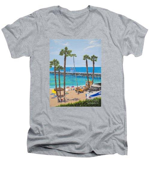 Perfect Beach Day Men's V-Neck T-Shirt