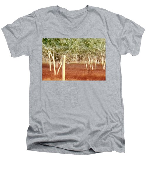 And The Trees Danced Men's V-Neck T-Shirt