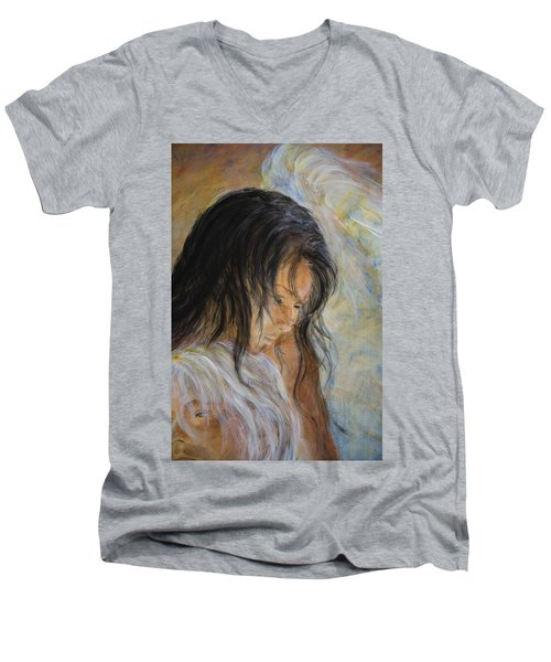 Angel Face Men's V-Neck T-Shirt