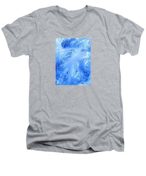 Angels In The Sky Iv Men's V-Neck T-Shirt