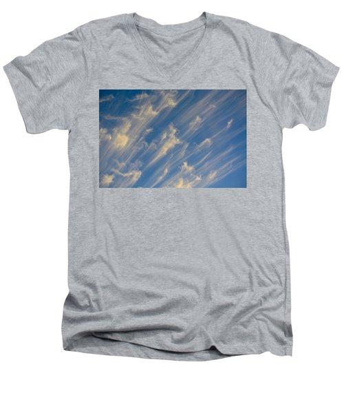 Angels Trumpets Men's V-Neck T-Shirt