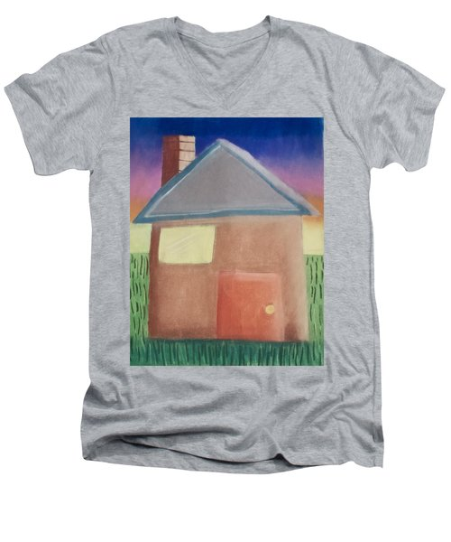 Home Sweet Home Men's V-Neck T-Shirt by Joshua Maddison