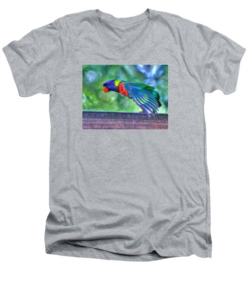 Animal 3 Men's V-Neck T-Shirt