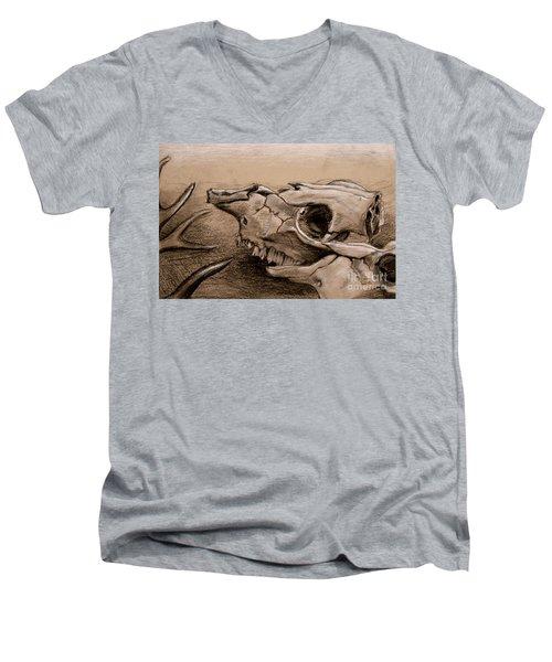 Animal Bones Men's V-Neck T-Shirt