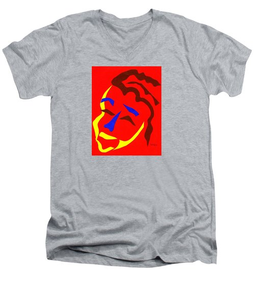 Annalyn Men's V-Neck T-Shirt