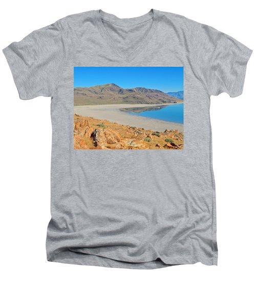 Antelope Island Men's V-Neck T-Shirt