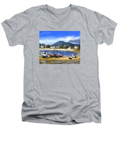 Anticipation Men's V-Neck T-Shirt