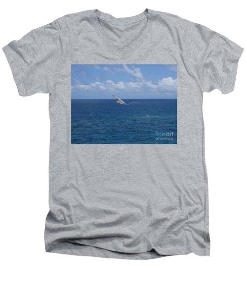 Antigua - In Flight Men's V-Neck T-Shirt