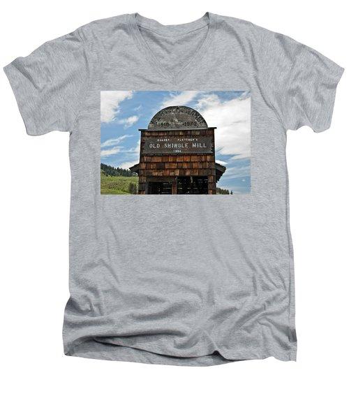 Antique Shingle Mill Men's V-Neck T-Shirt