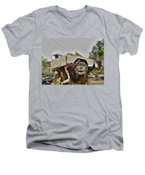Antiques Broken Men's V-Neck T-Shirt