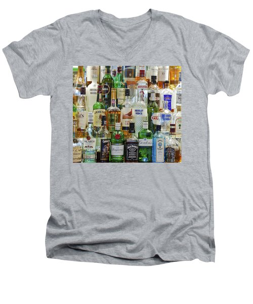 Anyone For A Drink Men's V-Neck T-Shirt