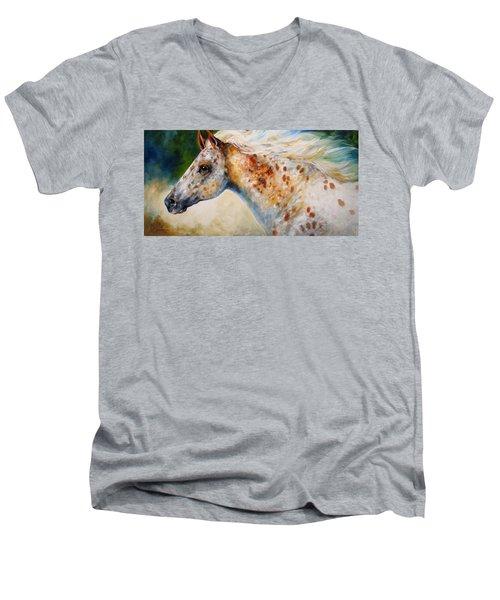 Appaloosa Spirit 3618 Men's V-Neck T-Shirt